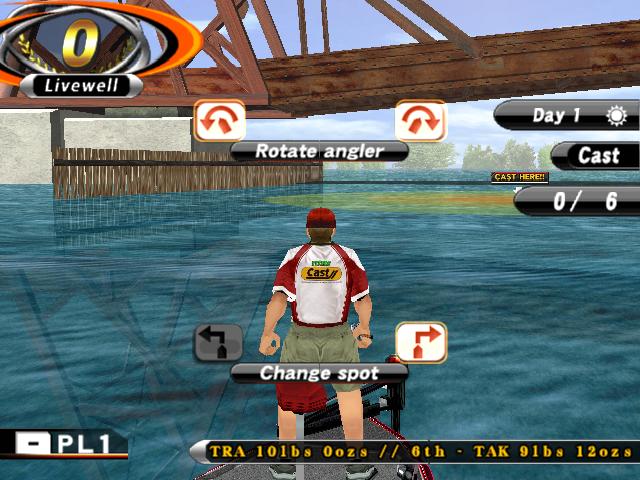 Screenshot for Bass fishing challenge