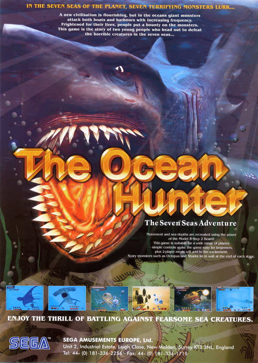 GameTronik - The Ocean Hunter (Model 3)