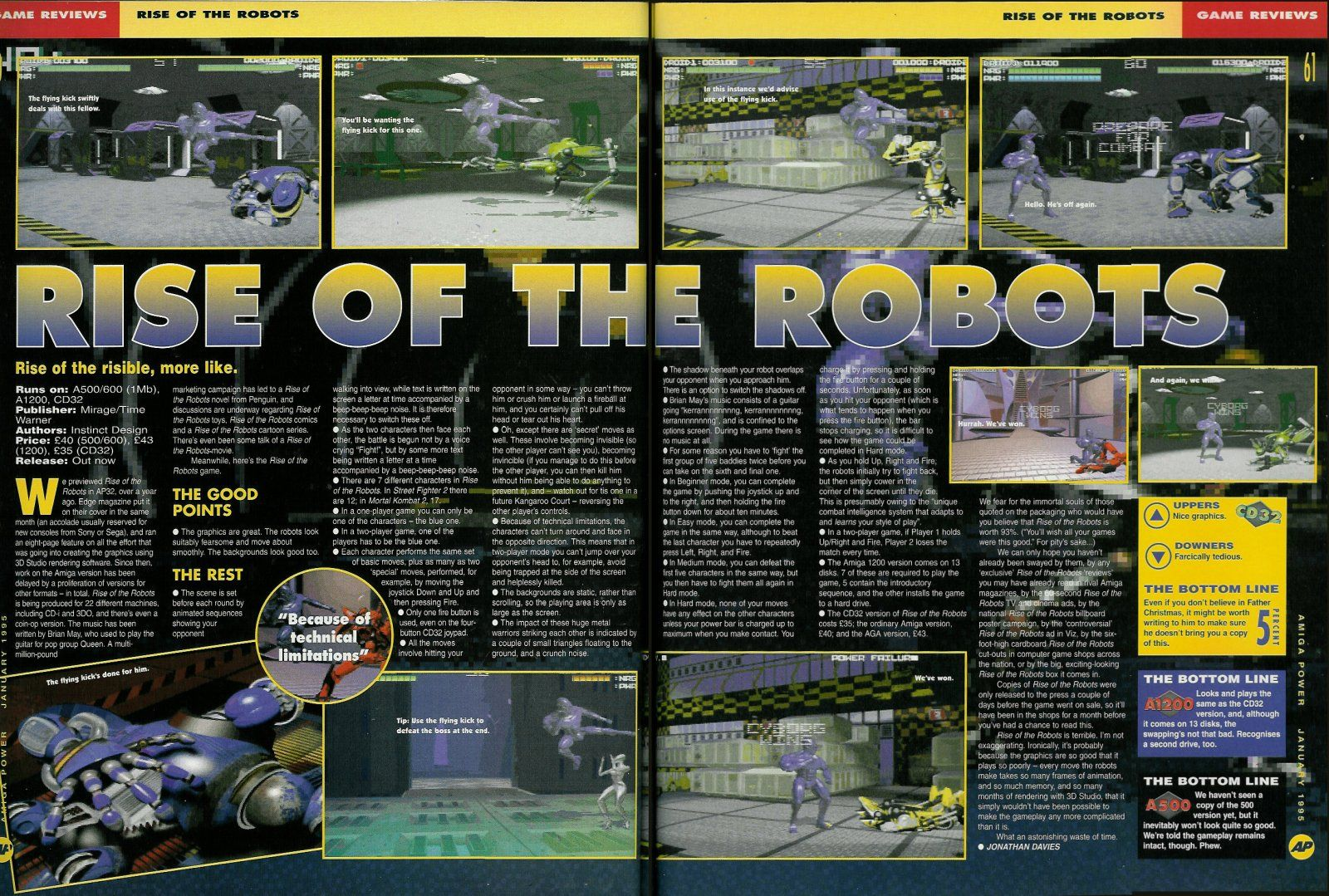 Rise of the Robots (eng) (Abandonware - Combat)