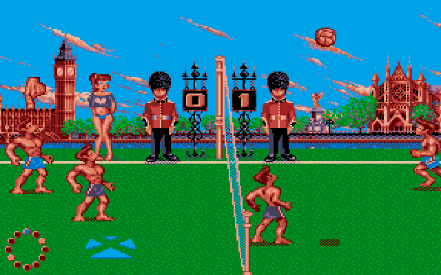 Jeu de Beach Volley !