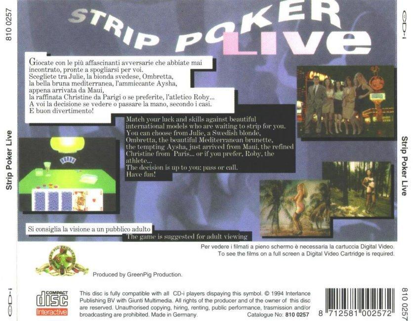 Strip Poker Online Live