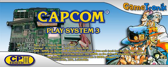 GameTronik - CPS3 - Emulation, Roms