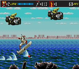 GameTronik - Shinobi 3 - Return of the Ninja Master (Megadrive)