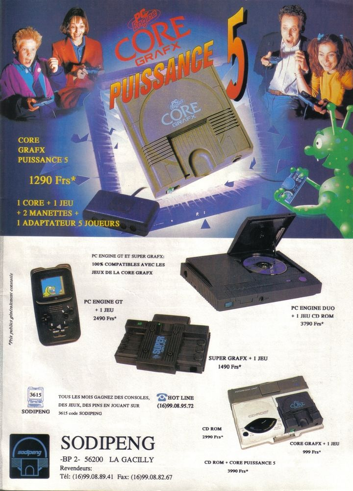 By Photo Congress || Turbografx Cd Super System Card