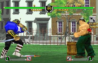 un des tous derniers jeux Saturn, et le dernier jeu Capcom