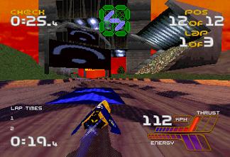 Wipeout 2097 (E) (Sega Saturn)