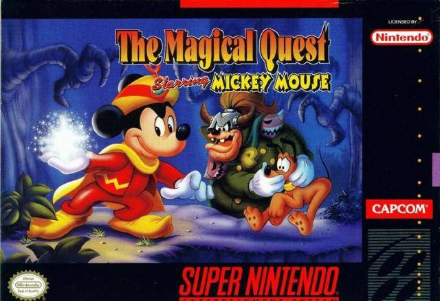 Magical Quest Starring Mickey Mouse, The (Super Nes)
